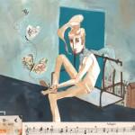adagio_handmade illustration_2011: ink, coffee, acrylic, mixed collage
