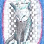 miao_grafite, acrilico, collage su cartoncino_2015
