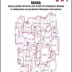 MANA installazione artistica site-specific permanente::MAAM::Roma