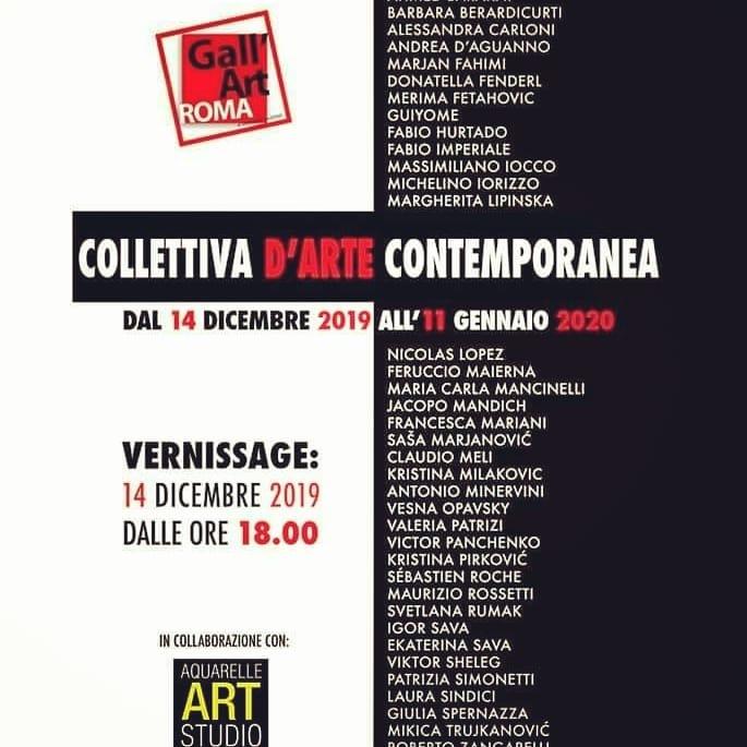 collettiva open studio, gen 2020, vicolo de bovari 7, 00186, Roma