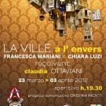 MOSTRA illustrazioni&installazione La Ville à l'envers@ HulaHoop Club_marzo 2012, Roma