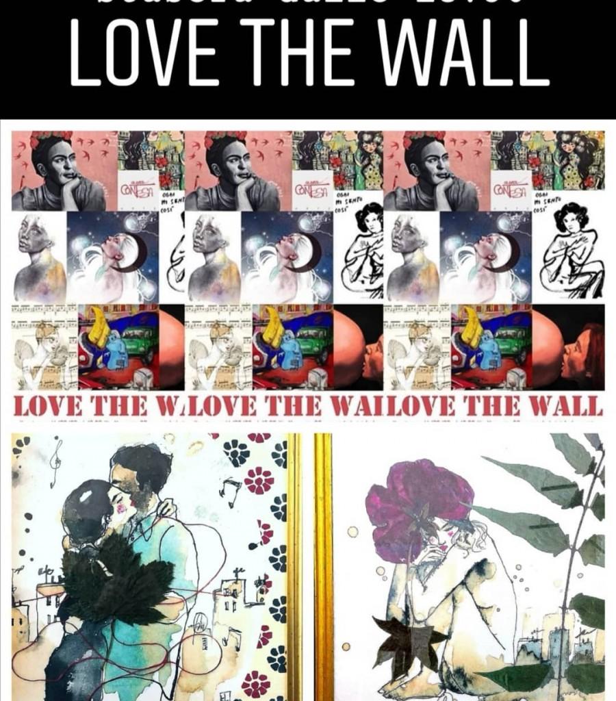 Love the wall: collettiva-feb-2020, Galleria d'arte Area Contesa, Roma