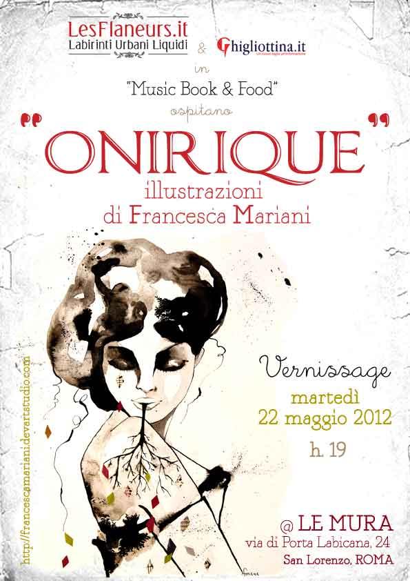 mostra personale ONIRIQUE@ LeMURA_22maggio2012