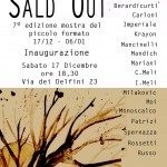 SALD OUT::collettiva:: 17 dic >15 gen 2017:: Evasioni Art Studio Roma