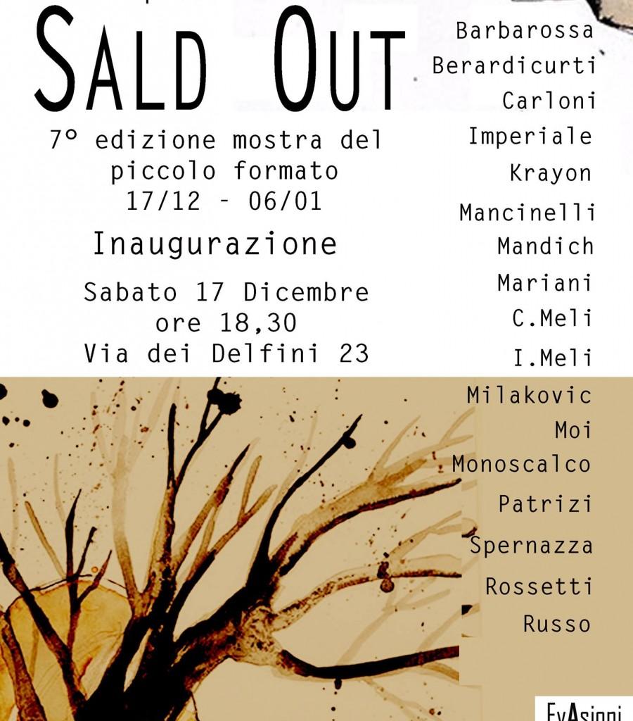 SALD OUT::collettiva:: 17 dic >15 gen 2017:: Evasioni Art Studio Roma
