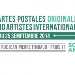 MAIL ART exhibition::set 2014::SLOW GALERIE Paris