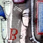 sognaLIBeRO_5#ink, acrylic, digital letters_2011