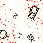 sognaLIBeRO_4#ink, acrylic, digital letters_2011