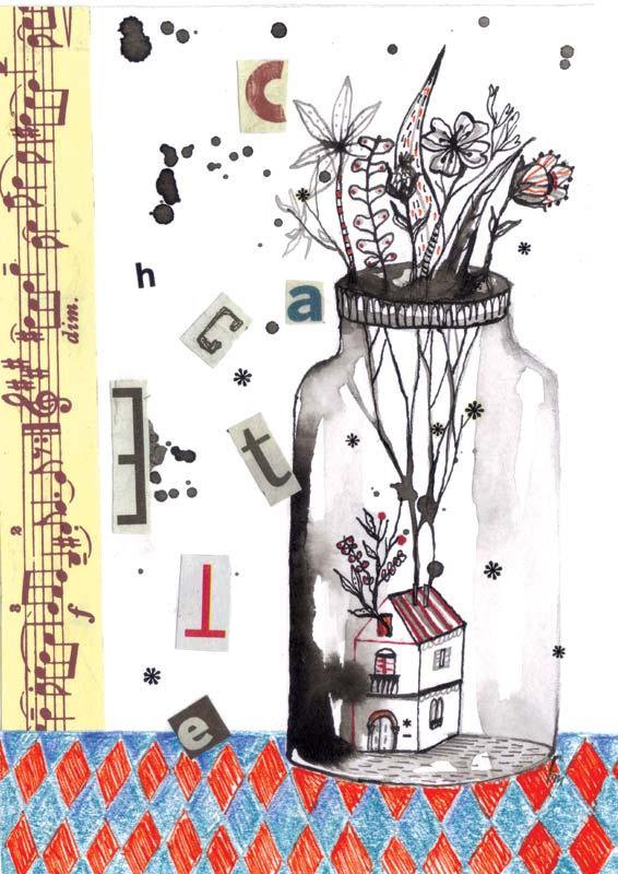 CACHETTE_illustrative postcard for SLOW GALERIE_Paris