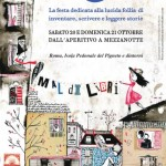 illustrazione per locandina del festival Mal di Libri_2012
