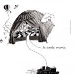 illustrazione per Tenda Errante laboratorio per bambini - Teatro Vascello -nov.2012