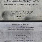 locandina LEAR di E.Bond_una produzione Teatro di Roma-lacasadargilla