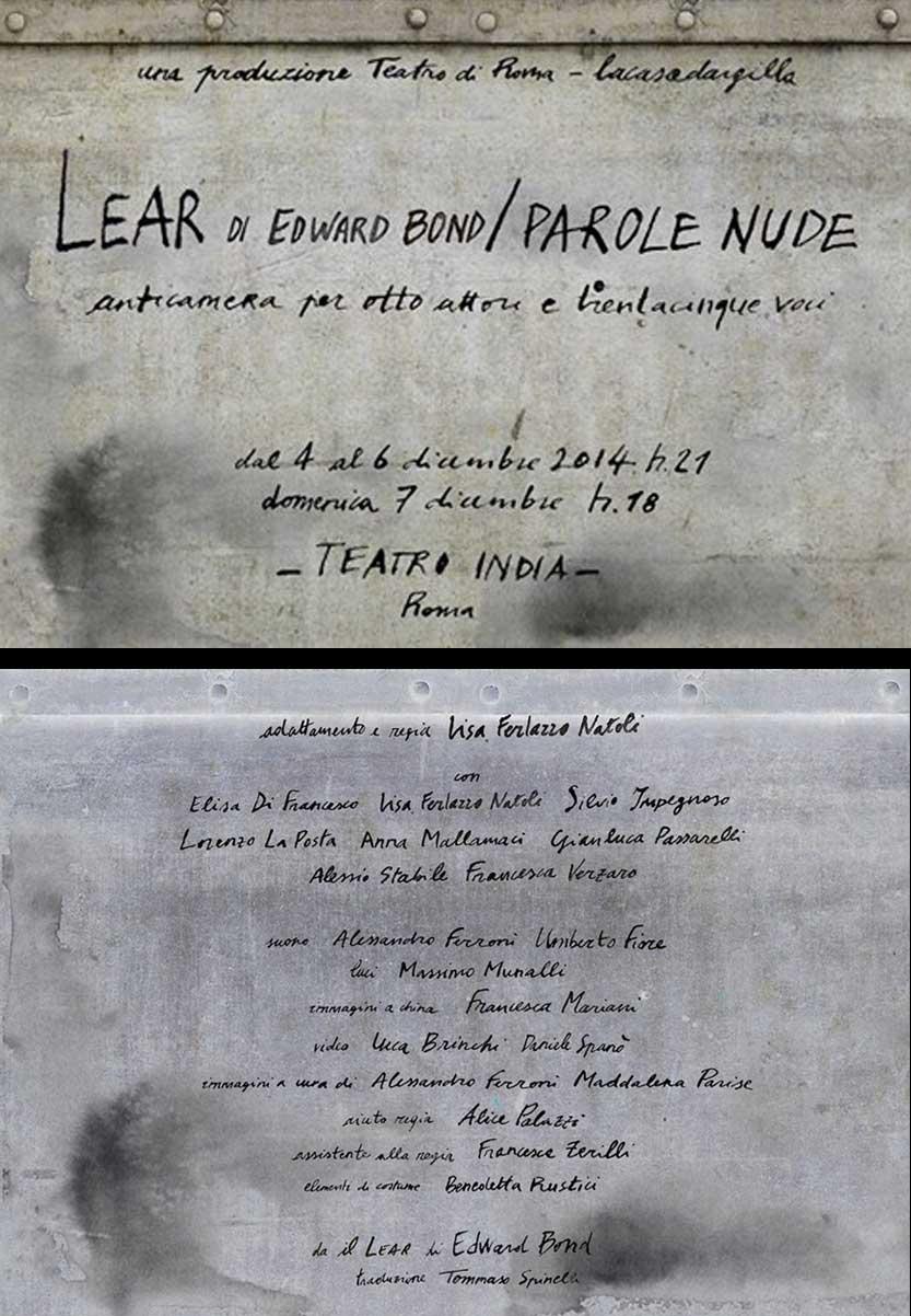 LEAR di E.Bond_Lacasadargilla_Teatro di Roma