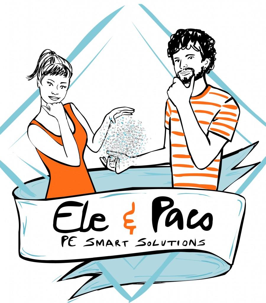 Ele&Paco-logo e illustrazioni_MagneticPangea_2015