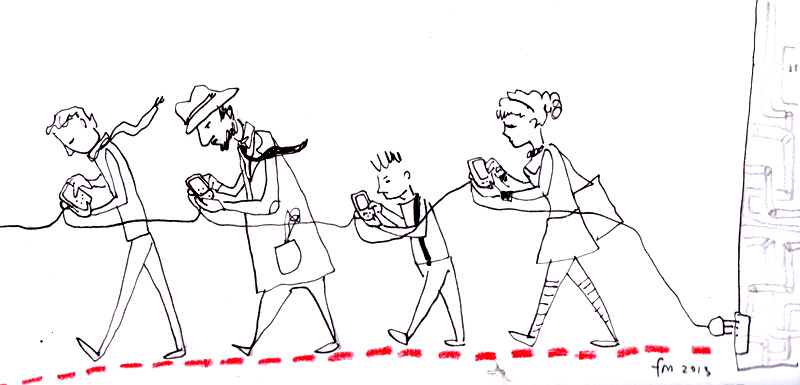 LA COMUNICAZIONE AI TEMPI DELL'I-PHONE_apr 2013