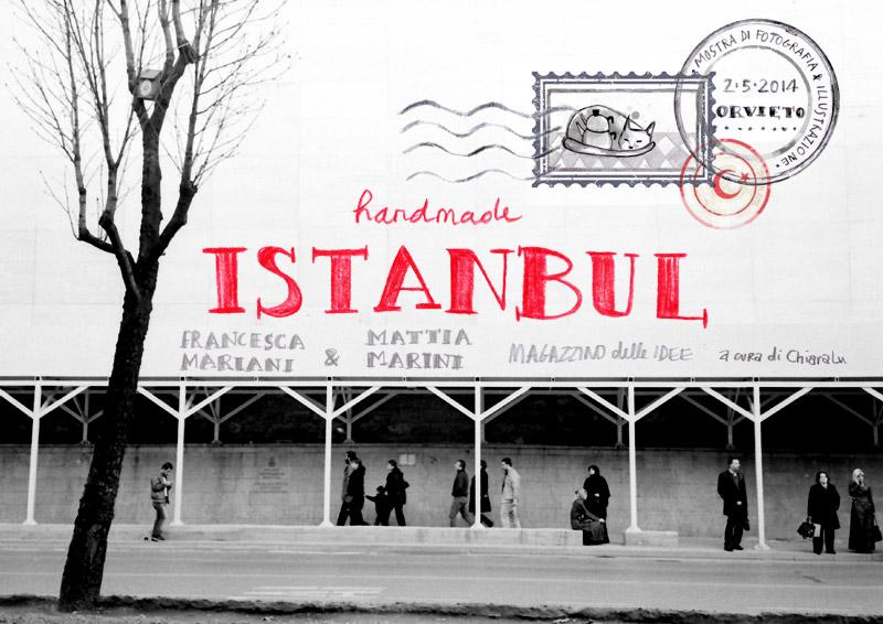 locandina Mostra Handmade Istanbul_Magazzino delle Idee, Orvieto_2014