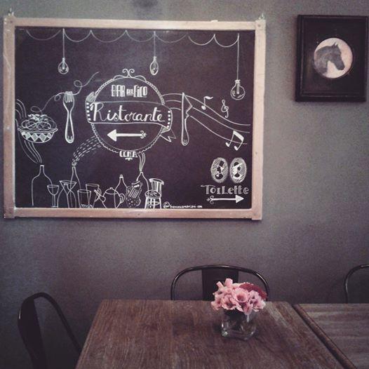 BDF ristorante blackboard - Bar del Fico, Roma