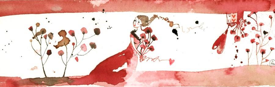lei_china, ecoline, caffè, collage su carta*CelluloideOfficina dell'immagine*