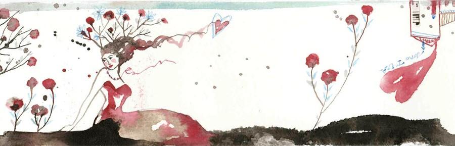 lei_china, ecoline, pastello e collage su carta*CelluloideOfficina dell'immagine*