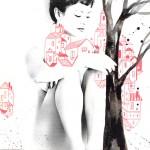 la città rossa_china e rosso su stampa fotografica_foto di Futura Tittaferrante