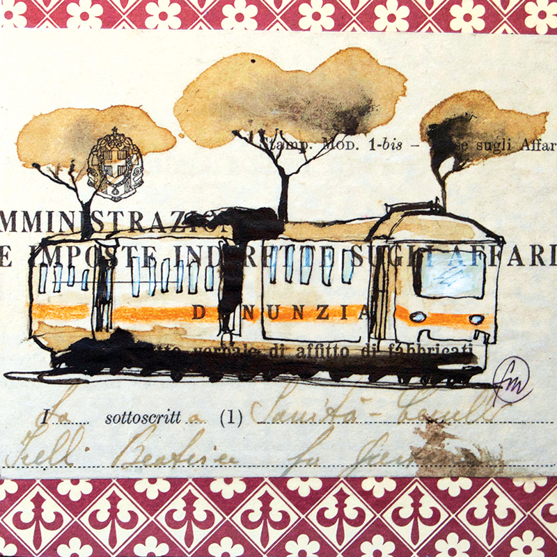 Roma - in tram