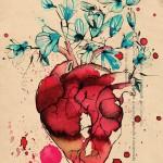 cuore giardino