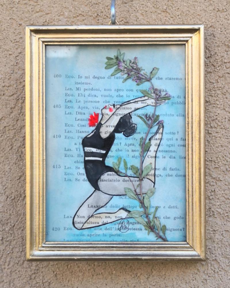 Di acrobazie e fiori selvatici /SOLD