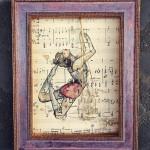 l'equilibriste . 24,5x30,5cm/ collezione privata