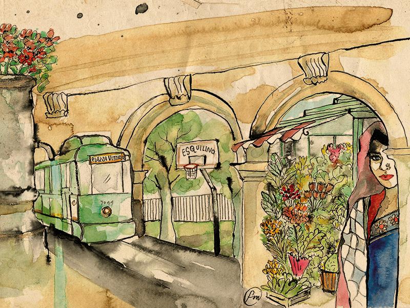 Piazza Vittorio - Roma / TRACCE in collaborazione con Parole in Cuffia