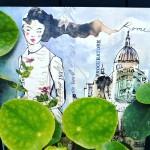 tra le rotondità di foglie carnose, di cupole scolpite nel cielo e femminilità che impera sulla città eterna.