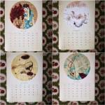 calendario 2021 f.to A4: ogni mese un'illustrazione